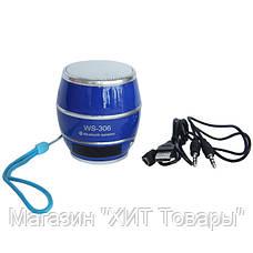 Колонка Bluetooth WS 306 USB FM!Опт, фото 2