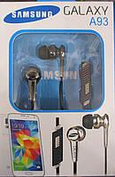 Наушники Samsung Galaxy A93 с микрофоном