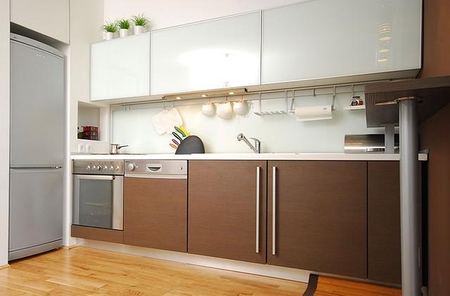 Кухни из закаленного стекла в Киеве, кухонная мебель из закаленного стекла