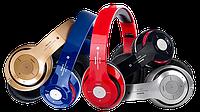 Наушники Monster Beats STN-16 с Bluetooth (синие, красные, золотые)