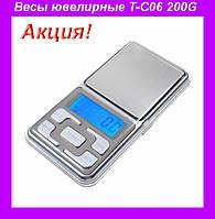 Весы ювелирные T-C06(200G/0.01G),Ювелирные весы,Весы до 200 гр!Акция