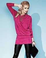Стильная женская туника розового цвета. Модель Perla Zaps.