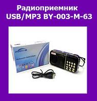 Радиоприемник USB/MP3 BY-003-M-63