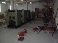 Демонтаж полиграфического оборудования
