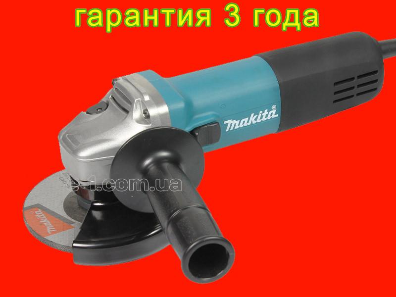 Профессиональная болгарка на 125 мм Makita 9558HNG
