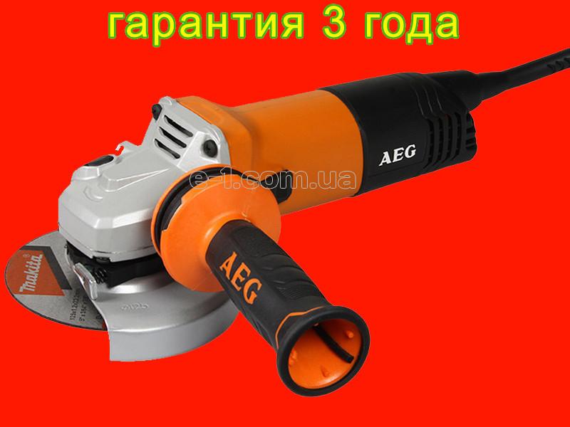 Професійна болгарка на 125 мм AEG WS 11-125