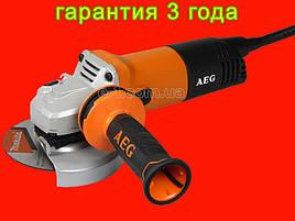 Профессиональная болгарка на 125 мм AEG WS 11-125