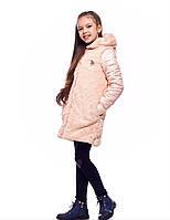 Теплые детские шубки зимние для девочек