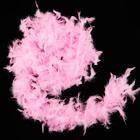 Боа из перьев 40 г (розовое).