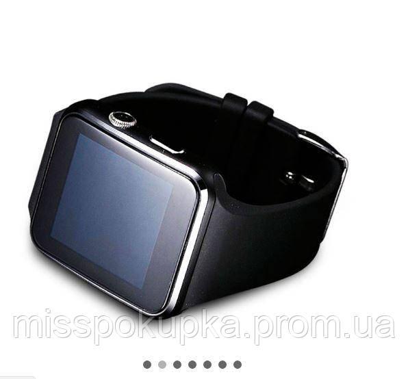 Умные наручние часы X6 черный