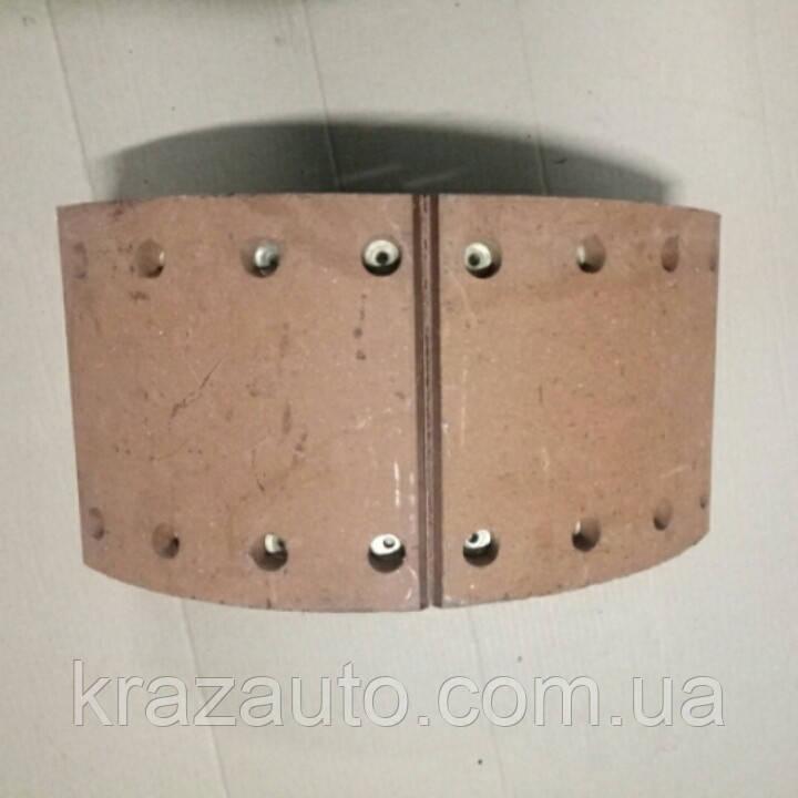 Колодка тормозная КрАЗ задняя 6505-3502090