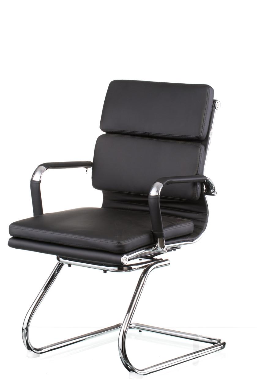 Кресло офисное Solano 3 confеrеncе black (Special4You-ТМ)