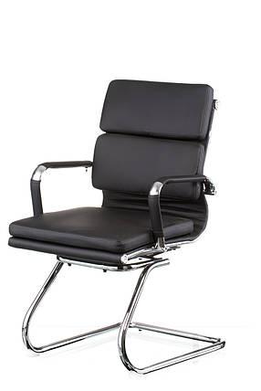 Кресло офисное Solano 3 confеrеncе black (Special4You-ТМ), фото 2