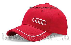 Универсальная бейсболка Audi Unisex Baseball cap, red