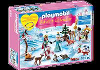 Конструктор Playmobil 9008 Адвент-календарь Королевская семья на катке