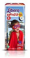 Трусики Libero Up&Go Hero Collection, размер 6 (13-20 кг), 38 шт.