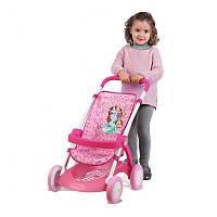 Оригинал. Коляска прогулочная для куклы Disney Princess 254011 Smoby