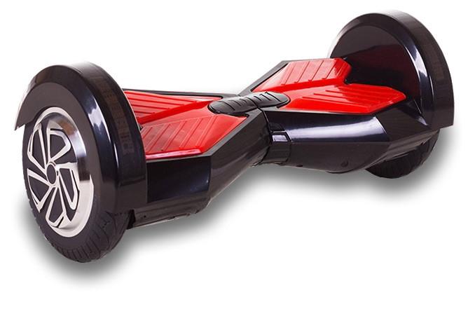 Smart Balance lambo U6 - 8 дюймов LED Black-red (Черный с красным)