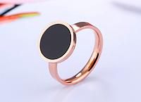 Женское кольцо позолоченное в стиле Булгари,  в наличии 18
