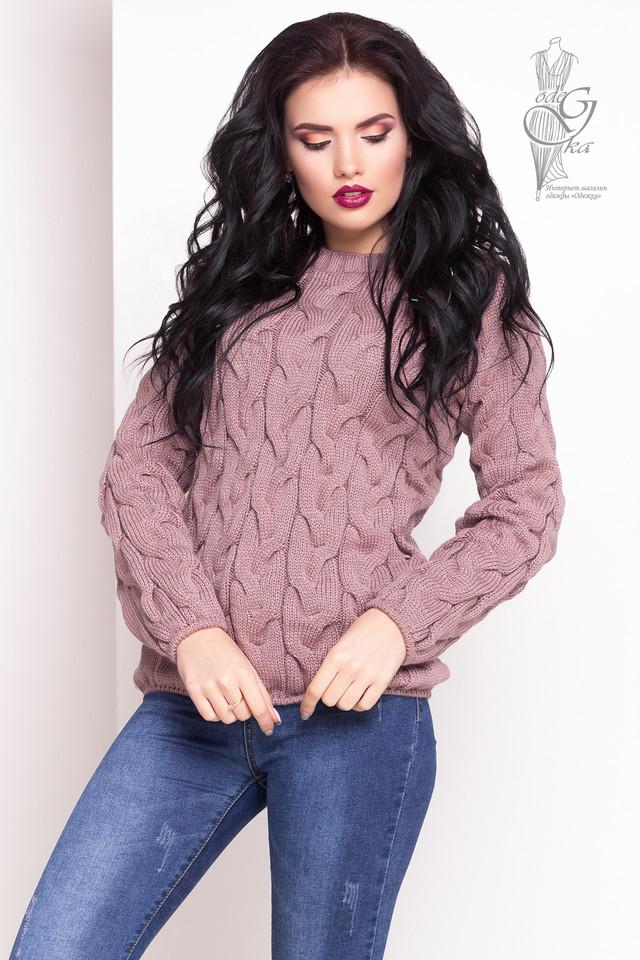 Цвет фрез Зимних теплых свитеров Роксана