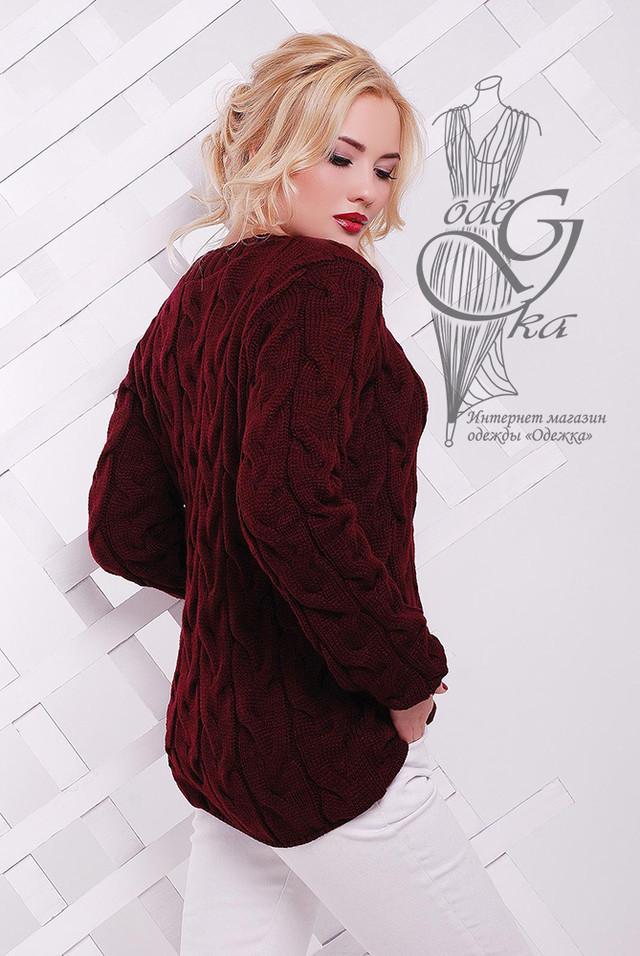 Фото-1 Зимних теплых свитеров Роксана