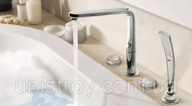 смесители для ванной на борт ванны купить