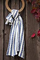 Плед-накидка Barine 77х82 - Stripe Muslin lacivert синий