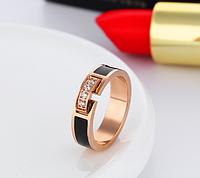 """Женское кольцо позолоченное """"Шик"""""""
