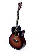 Акустическая гитара TREMBITA LEOTONE L-01 TOBACCO BURST