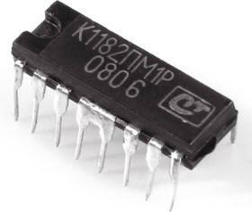 К1182ПМ1Р микросхема-контроллер напряжения сетевого питания (фазового регулятора) DIP-(12+4)