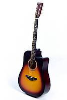 Акустическая гитара TREMBITA LEOTONE L-03 SUN BURST