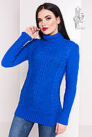 Женский зимний свитер теплый Сара-2 под горло Шерсть-Акрил