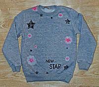 Детский свитшот на флисе New Star