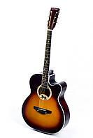 Акустическая гитара TREMBITA LEOTONE L-17 SUN BURST