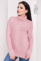 Женский зимний свитер теплый Сара-5 под горло Шерсть-Акрил