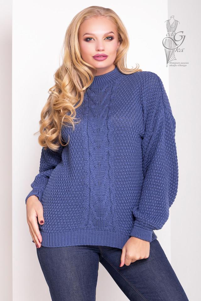 Цвет джинс Зимних теплых свитеров Паффи