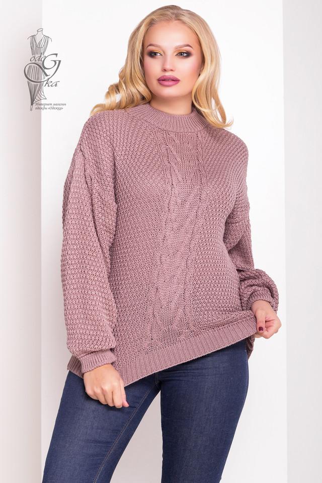 Фото Зимних теплых свитеров Паффи