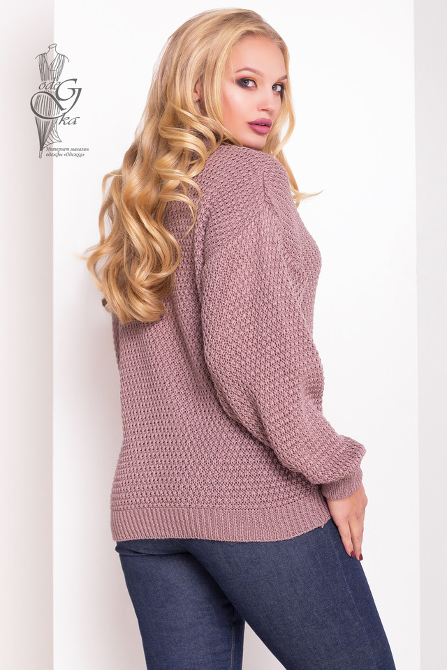 Фото-1 Зимних теплых свитеров Паффи