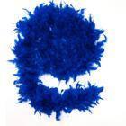 Боа из перьев 60 г (синее).