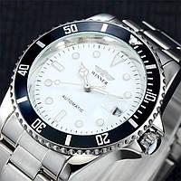 Механические часы с автоподзаводом Winner (white)