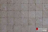 Травертин кирпичик катанный Tumbled 1х10х10 см