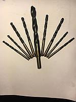 Свердло циліндричний хвостовик з швидкорізальної сталі, марки P9(ТУЛАМАШ)