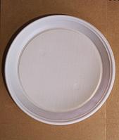 Тарелка одноразовая пластиковая d 165 мм. упаковка 100 шт.
