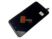 Модуль для Lenovo S930 (Дисплей + тачскрин), черный, с передней панелью, оригинал PRC, #Synaptics