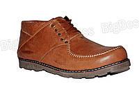 Мужские зимние ботинки на змейке больших размеров  Б-14 кор