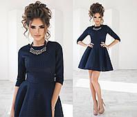 Платье (42,44,46) — неопрен сетка от компании Discounter.top