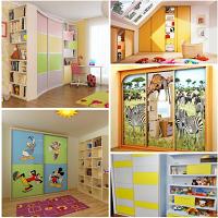 Шафи і пенали в дитячу кімнату