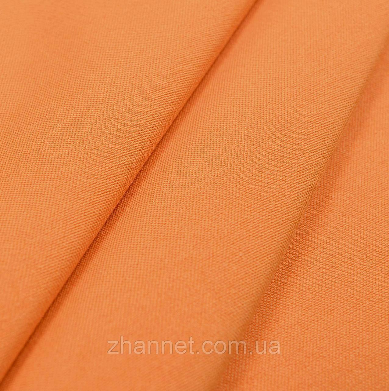 Ткань для штор Kanzas оранжевый