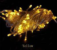 Гирлянда светодиодная на 500 Led желтый