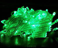 Гирлянда светодиодная на 500 Led зеленый